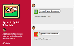 Pyramid Quick Tutorials