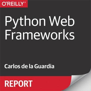 Python Web Frameworks Report Cover