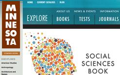 University of Minnesota Press Website